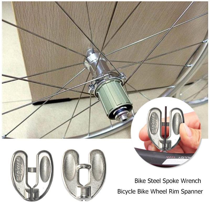 Carbon Steel Spoke Nipple Key Bike Cycling Wheel Rim Repair Spanner Wrench Tool For Bicycle Motorcycle Car Tool