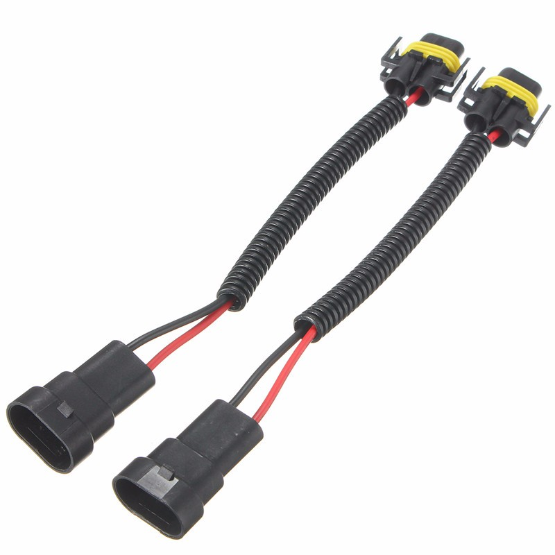 2x 9006 to H11//H8 Headlight Fog Light Conversion Connector Wiring Harness Socket