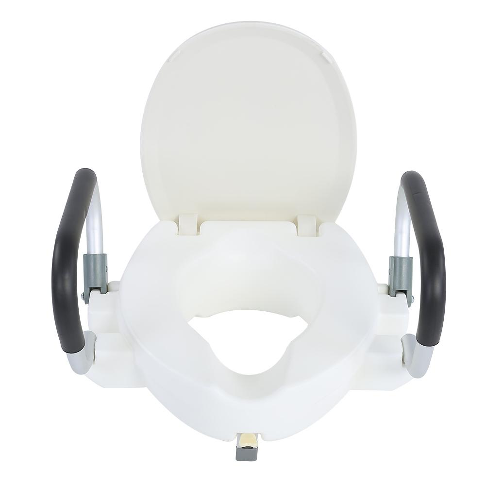 Surprising Us 28 24 36 Off New 10Cm Elevated Raised Toilet Seat With Lid Removable Padded Arms White In Toilet Seats From Home Improvement On Aliexpress Com Gmtry Best Dining Table And Chair Ideas Images Gmtryco