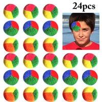 24PCS Juggling Ball Funny Colorful Interactive Play Ball Juggle Ball for Kids