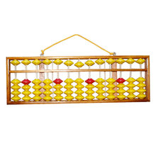 Chinese Abacus 58cm 13 Column Wood Hanger Big Size NON-SLIP Abacus Chinese Tool In Mathematics Education for Teachers(China)