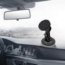 Car Phone Mount Magnetic Dashboard Mounted Car Phone Holder Auto Suction Cup Phone Holder Internal Accessories 007 rotary double side suction cup car mount holder white