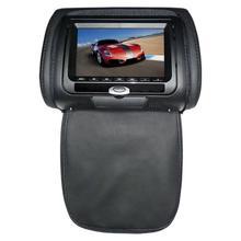 """Подголовник для сумок DVD монитор Автомобильный подголовник монитор DVD HD дисплей """" DVD MP5 USB ЖК-экран Автомобильная Подушка подголовник монитор"""