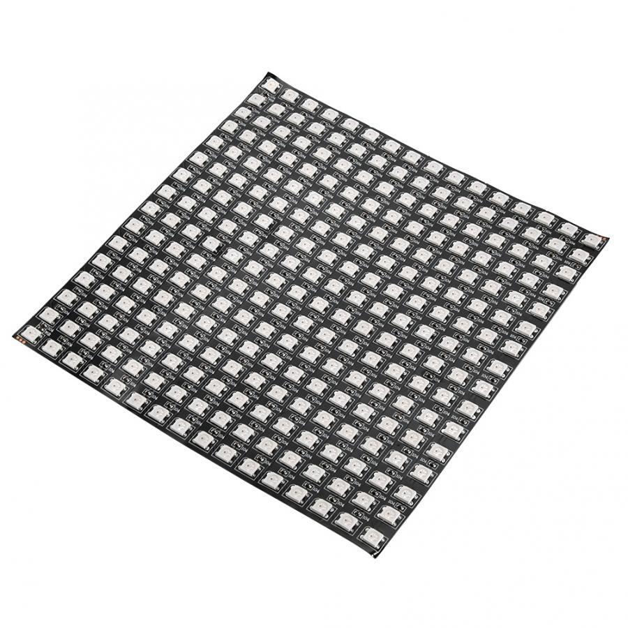 Image 3 - WS2812B RGB 16*16 Pixels Digital Flexible Dot Individually Addressable LED Display Scree Wattmeter-in Novelty Lighting from Lights & Lighting