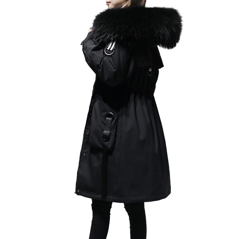5XL grande taille manteau d'hiver femme 2018 veste d'hiver femmes à capuche rembourré coton Parka longue haute qualité chaud doudoune p672 - 3