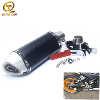 Exhaust Muffler Motorcycle Universal Exhaust Motorcycle 51mm Inlet Dirt Bike Sports Clamp Systems for Honda Crf 230 Yamaha Nmax