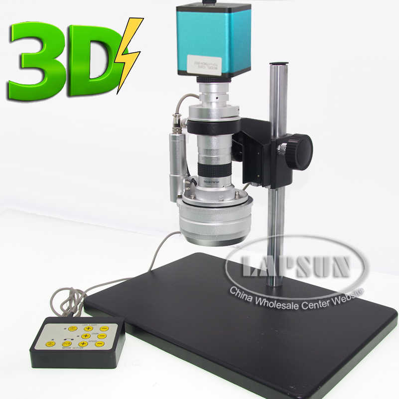 Synchronous Motor Action 3D Stereo C-MOUNT Lens 1080P @ 60FPS HDMI Industrial Jewelry PCB Digital Microscope Camera SONY IMX290