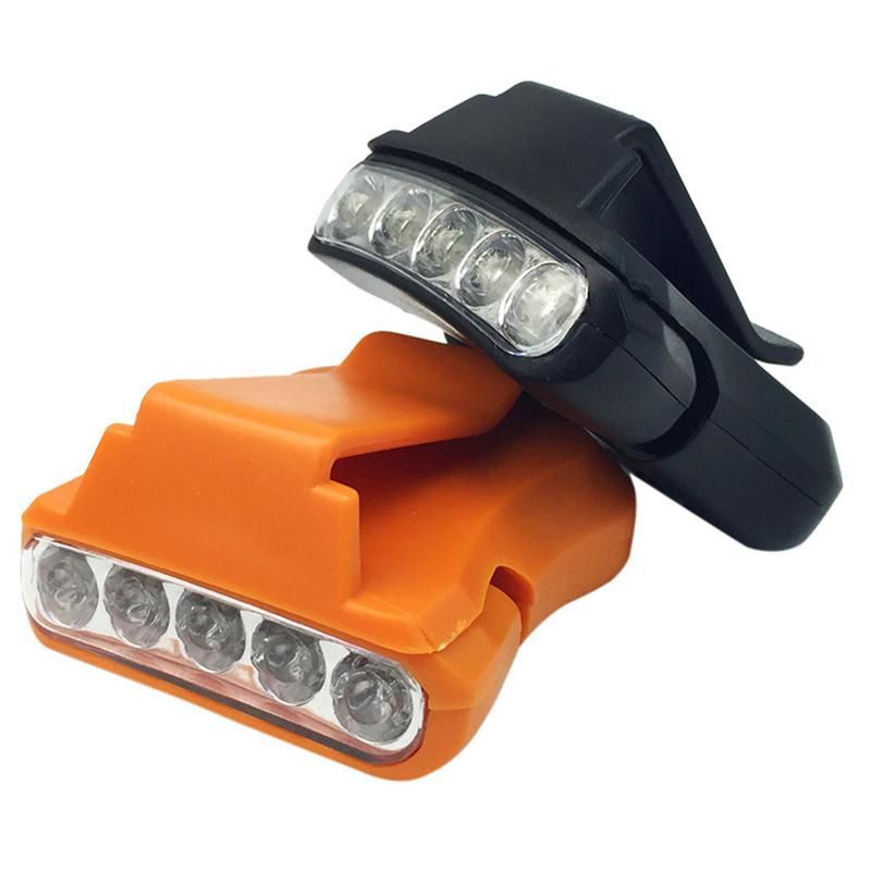 Q5 5LED Cap Light Mounted Lights Outdoor Camping Fishing Headle Mounted Lamps Hot Selling Fishing Headlights