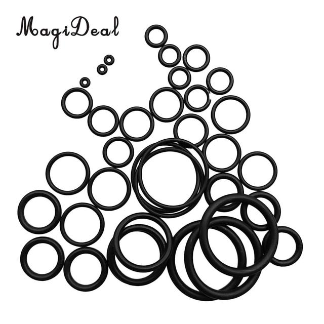 36pcs Nitrile Rubber Sealing O Rings Washer For Scuba Diving