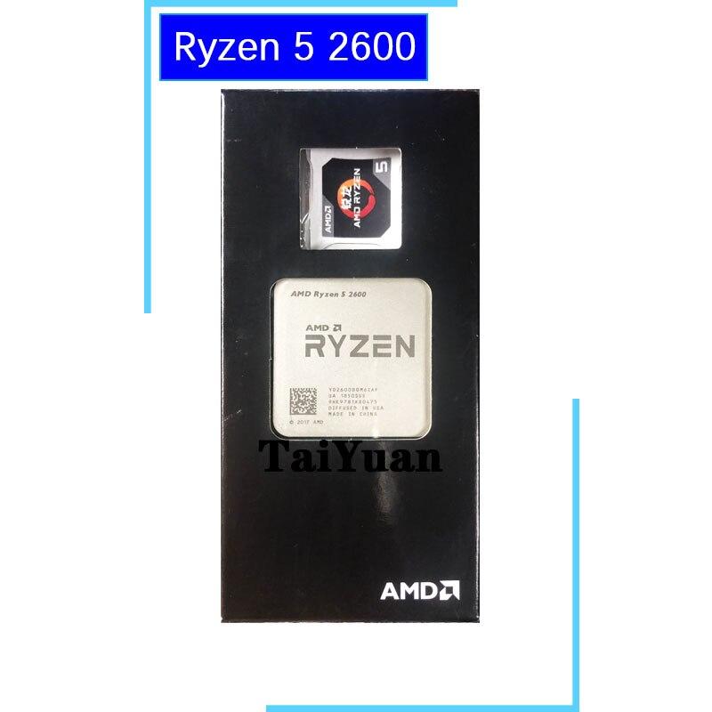 AMD Ryzen 5 2600 R5 2600 3 4 GHz Six Core Twelve Thread CPU