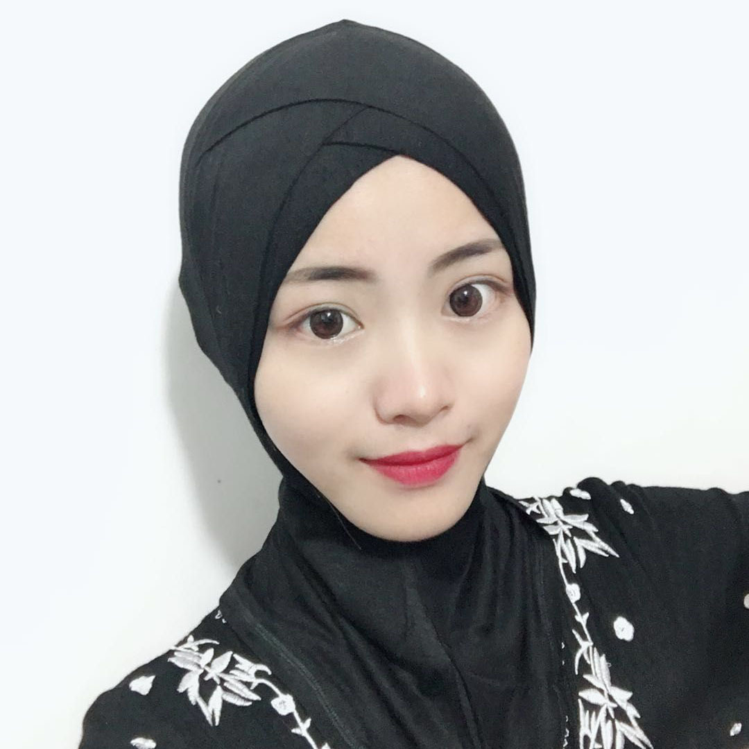 Muslim Headscarf Amazon Four Layers Of Cross Ninja Inner Hijab Scarves, Bottoming Caps Modal High Quality Turban