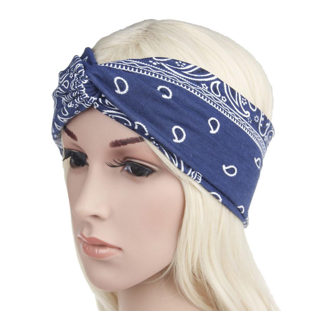 Eerlijk Bohemian Stijl Haarband Boho Afdrukken Patroon Hoofdband Vrouwen Meisjes Zacht Haar Decor Hoofddeksels Voor Het Verbeteren Van De Bloedsomloop
