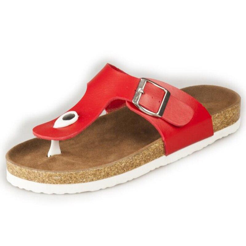Flip Slip D'été 3 Appartements Chaussures Nouveau Casual 2 Sandale 4 on Plage Liège 2018 Flop Confortable 1 Femmes Orthopédiques Pantoufles Sandales Mode SgUaUn