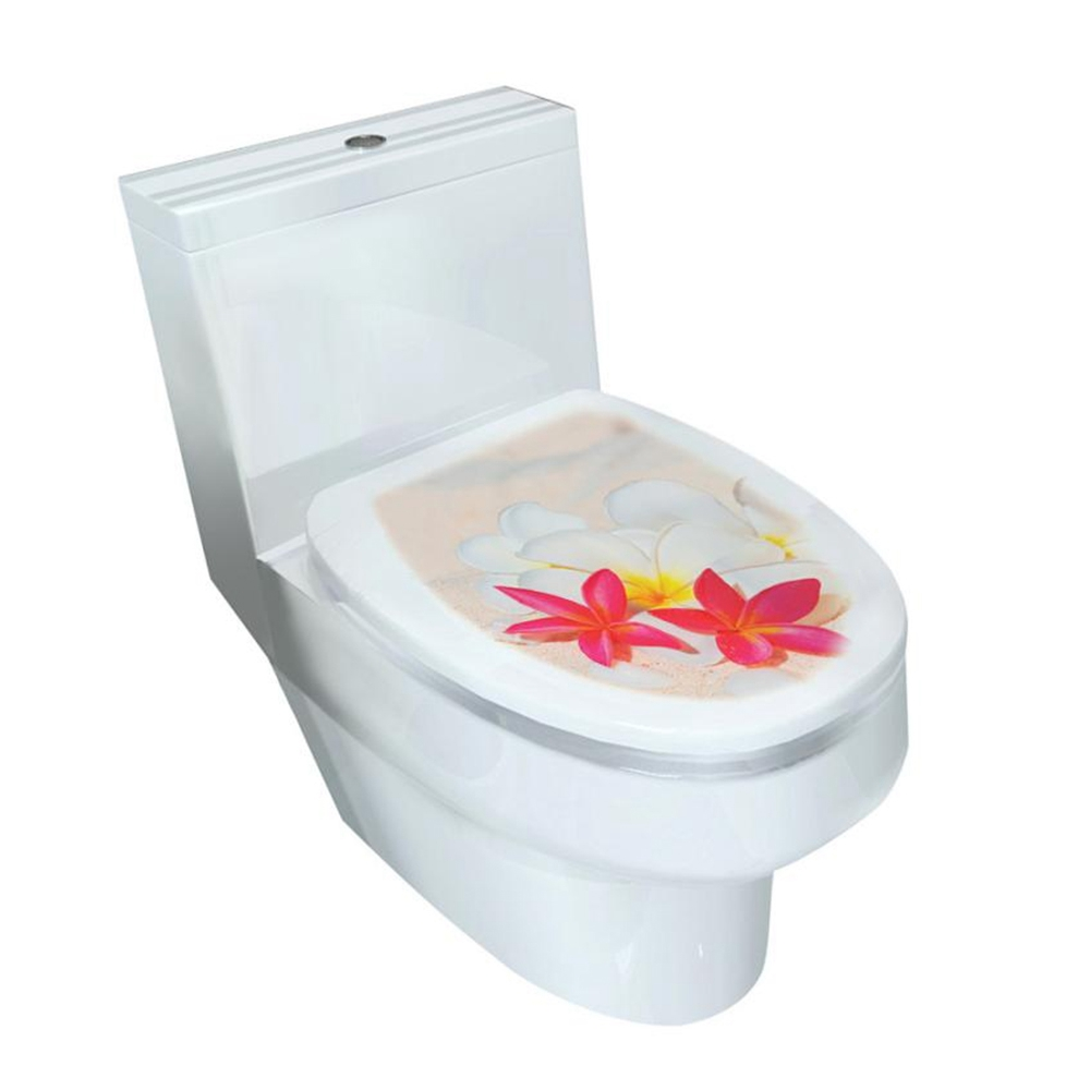 New Diy 3d Toilet Seats Wall Stickers Bathroom Mural Home