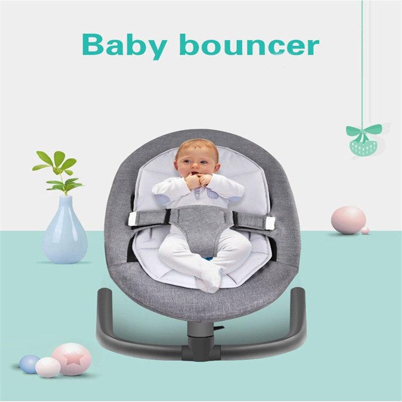 Knap Baby Slapen Mand Voor Baby Bebek Salincak Aluminium Pasgeboren Baby Swing Uitsmijter Schommelstoel Automatische Cradle Bebek Salincak Goed Voor Energie En De Milt