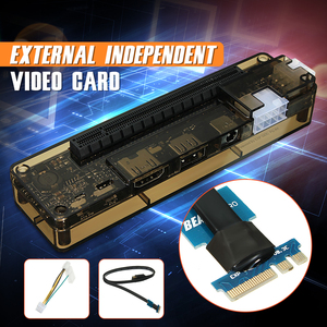 Image 4 - Hot V8.0 EXP GDC чудовище ноутбук внешняя независимая видеокарта док NGFF ноутбук PCI E расширительное устройство