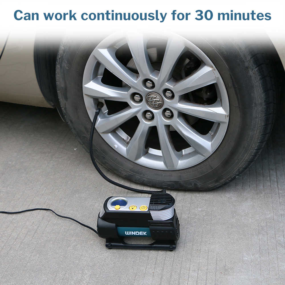 Detail Feedback Questions About Windek Car Air Compressor 12v