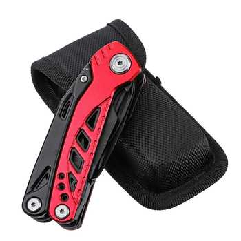 13 In 1 Multi-function Folding Knife Stainless Steel Outdoor Survival Camping Kitchen Multi tool Pliers Saw Screwdriver Cutter 6
