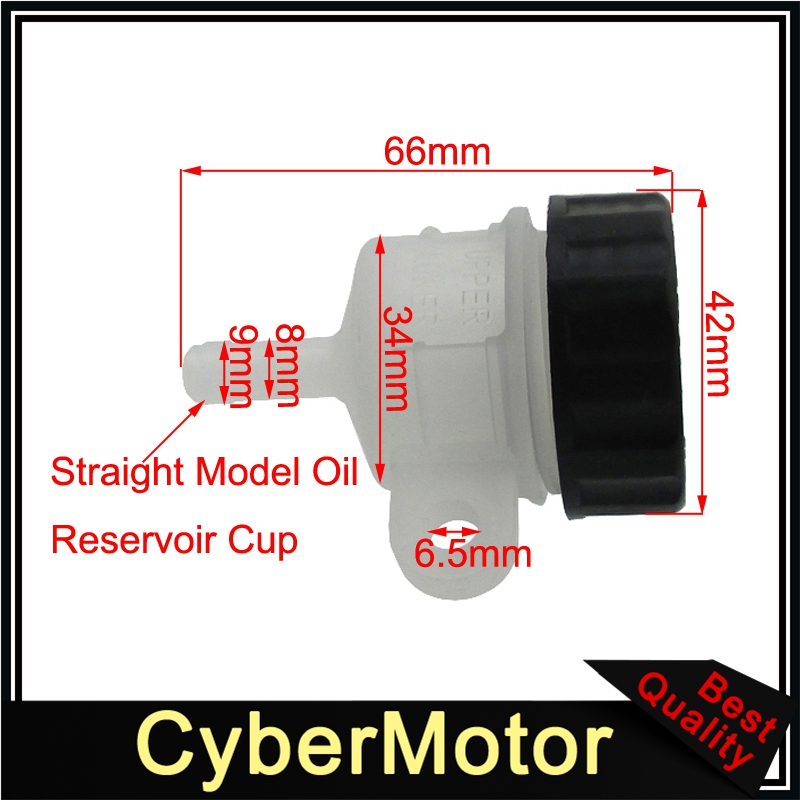 Brake Master Cylinder Reservoir Cup For Honda Yamaha Chinese Dirt Bike Atv Quad