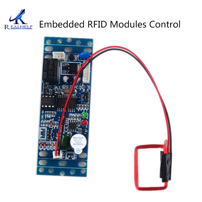 Embedded RFID Modules Control 13.56MHz IC/125KHZ ID Remote Control Proximity Card Access Control Board