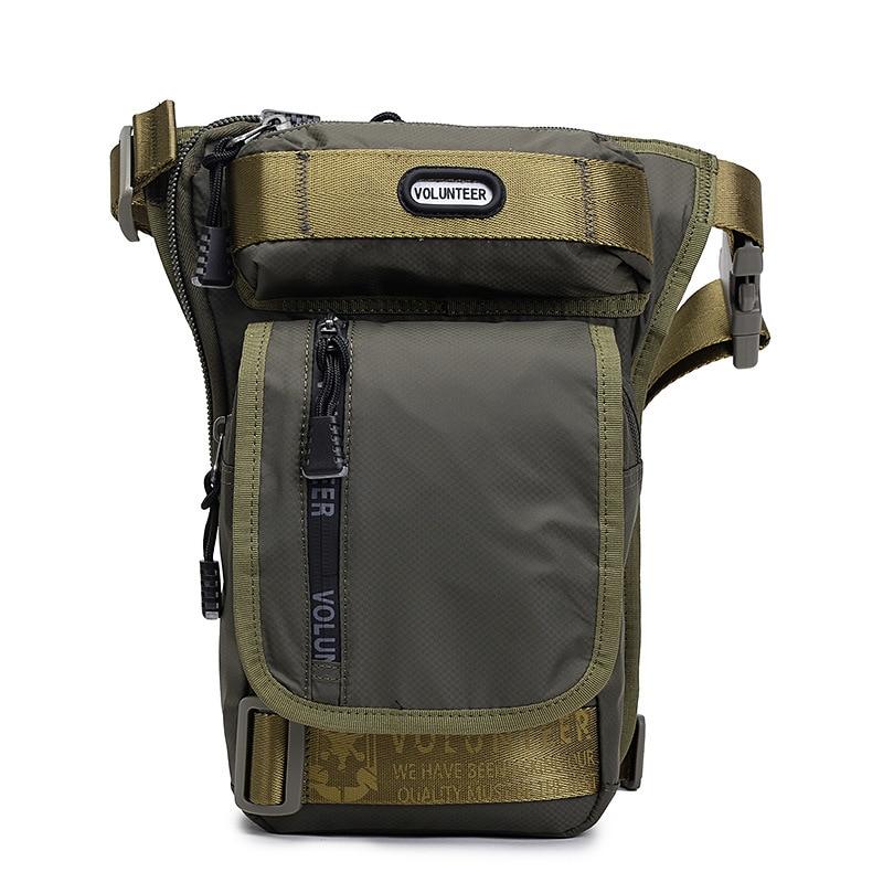 Top Quality Oxford Men Waist Leg Drop Bag Military Assault Belt Purse Male Riding Casual Waterproof Hip Bum Bags Fanny Pack