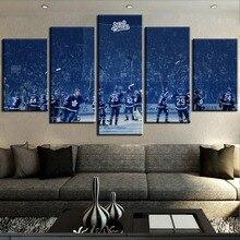 New 5 Piece Canvas Art Ice Hockey Team Sports Cuadros Decoracion Paintings on Canvas Wall Art for Home Decorations Wall Decor sports art art e875