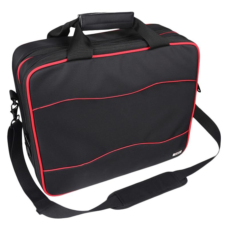 Bubm pour Xbox One système de jeu voyage sac à bandoulière, Xbox 360/Ps4 Pro/Ps4 mince voyage Gadget étui de transport pour Consoles et Acces