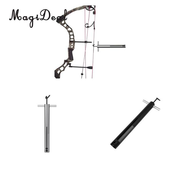 Magideal Archery Bow Tool Accurate Hand Held Archery Bow True Peak