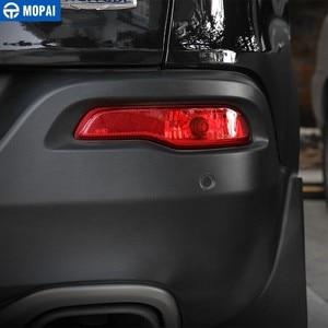 Image 2 - Mopai Auto Licht Montage Voor Jeep Cherokee Auto Achterbumper Staart Mistlamp Lamp Behuizing Cover Voor Jeep Cherokee Auto accessoires