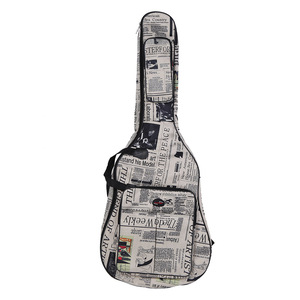 """Image 2 - 41 """"Acoustic Túi 600D chống Nước Vải Oxford Đôi Đeo Dây Túi Đàn Guitar Xách cho Đàn Acoustic đàn Guitar"""