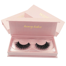 SHIDISHANGPIN False eyelashes natural long 3d mink lashes 1 pair individual volume eyelash hand made extension