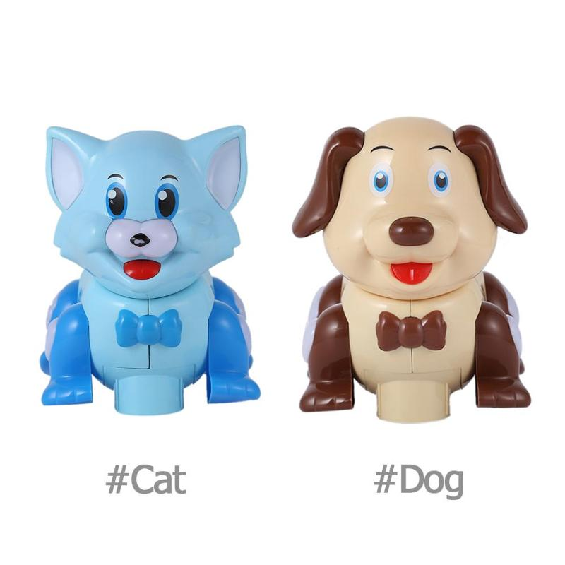 Cute Cat Dog Children Electric Universal Toy With Light Simulation Sound Electric Pet For Children Gift Learning Educational Toy
