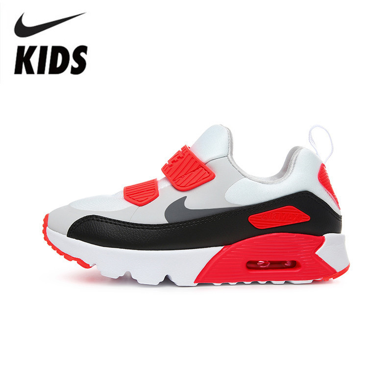 US $45.1 45% OFF|Nike Air Max 90 Kids Original Children Shoes Spring and Autumn Air Cushion Comfortable Sneakers #881927 002 in Sneakers from Mother &