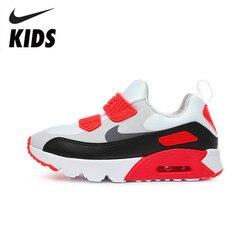 Nike Air Max 90 Kinder Original Kinder Schuhe Frühling und Herbst Air Kissen Komfortable Turnschuhe #881927-002