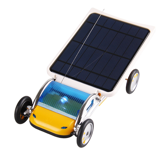 Solar Powered RC Car DIY Kit 4