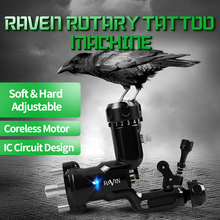 Tattoo Rotary Machine Raven New Design Import Strong Motor Powerful Tattoo Guns for Permanent Makeup Tattoo Supply tattoo rotary machine raven new design import strong motor powerful tattoo guns for permanent makeup tattoo supply