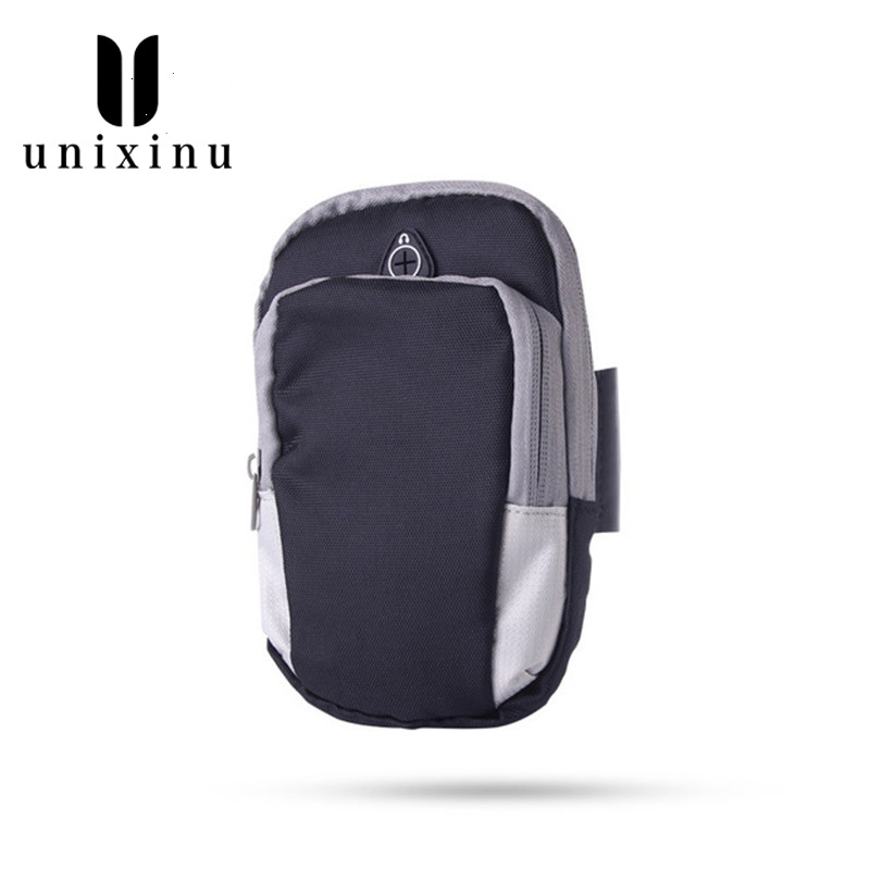 Sports Mobile Phone Arm Bag Men Women Running Equipment Arm Set Wrist Bag Outdoor Products Waterproof Armband New
