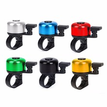 цена на 6 Colors Aluminum Alloy Bike Bicycle Cycling Handlebar Bell Ring Kids Scooter Mini Alarm For Safety Outdoor Bicycle Accessory