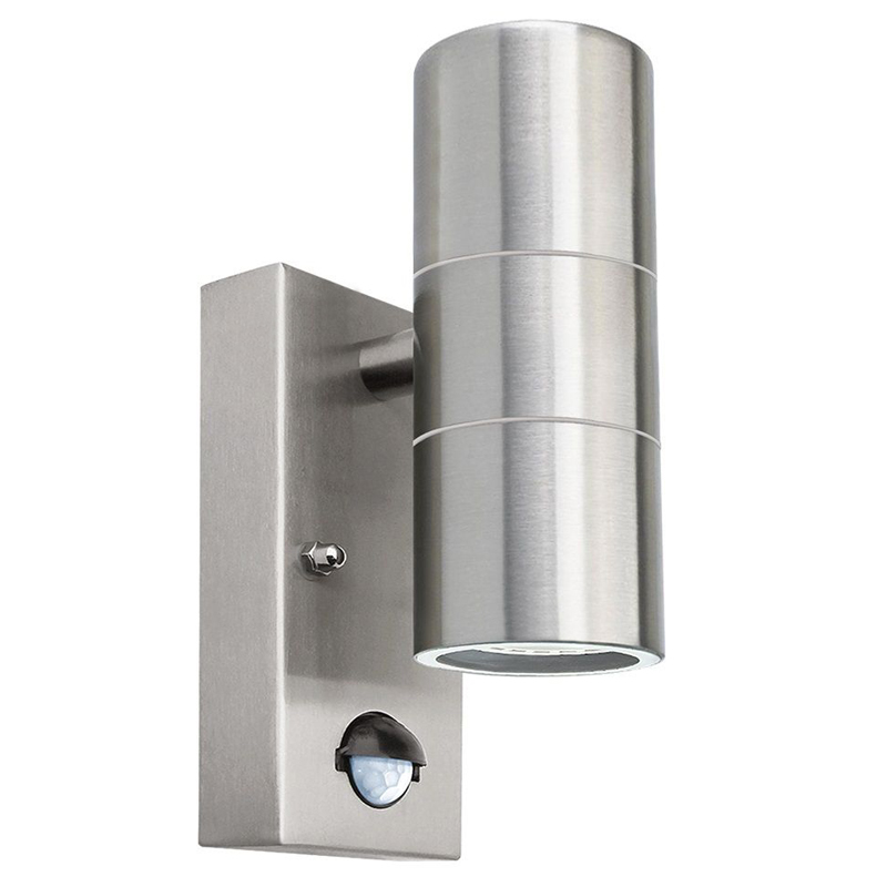 WSFS Hot induction Movement sensor wall lights Up/Down or Single Stainless Steel outdoor