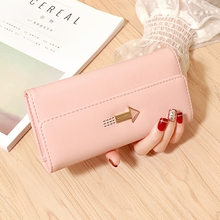 Wallet Female Long Section Small Fresh Student Large Capacity Multi-Card Holder Women Clutches