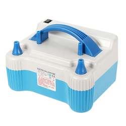 Azul portátil 700 W doble punta eléctrica globo bomba de aire inflador soplador bombas inflables boda decoración de fiesta de navidad
