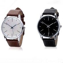 New brand Luxury Quartz Watches Men unisex Fashion Casual Le