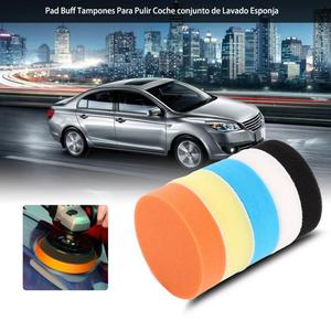 5Pcs 3 4 5 6 7 Car Polishing Pads Sponge Polishing Buffing Waxing Pad Kit Tool for Car Polisher Buffer Car Accessories New