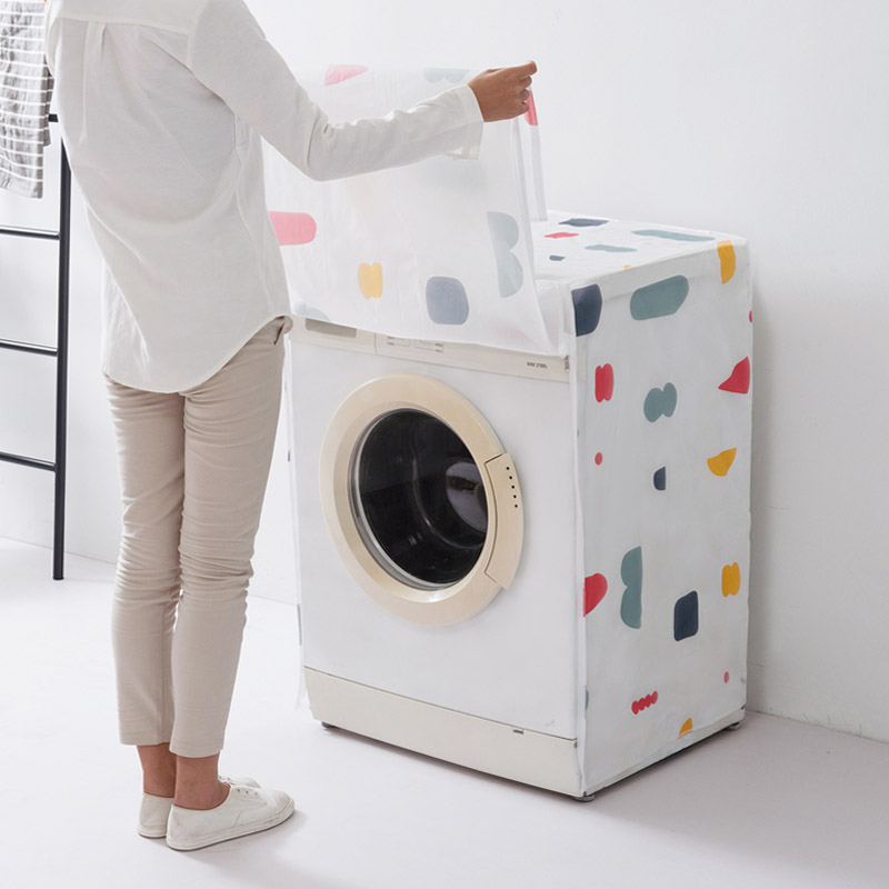 Household Washing Machine Dust Covers Organizer Wholesale Home Merchandises Accessories Supplies Gear Product Case