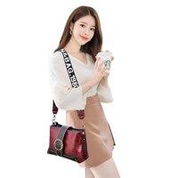 Witfox vintage women shoulder messenger bags 2019 fashion big capacity elegant cell phone pockets hot sale 832 ladies package