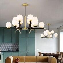 Modern Pendant Lamp LED Chandelier Hanging Lights Modern Lighting HangLamp Glass Ball Lamp Kitchen Fixtures Luminaire Suspension цена 2017