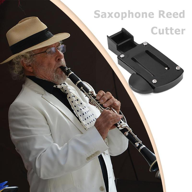 Saxophone Trimmer Reed Cutter Soprano Alto Tenor Reed Clarinet Reed Cutter Woodwind Musical Instruments Saxophone Repair Tools