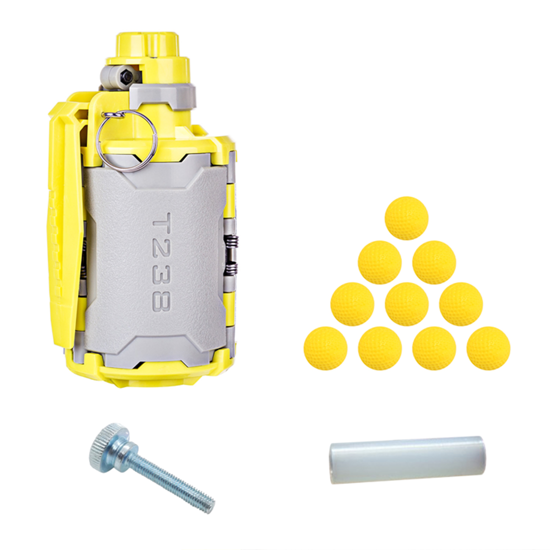 T238 V2 Water Bomb Toy Time-delayed Function for Nerf Gel <font><b>Ball</b></font> <font><b>BBs</b></font> for Airsoft Wargame 10 pcs <font><b>Balls</b></font> Hand Screw Knob Bolts image