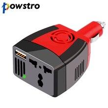 Powstro 150 Вт USB Автомобильное зарядное устройство Преобразователь мощности DC 12 В в AC 220 В модифицированная Синусоидальная волна мощность с USB 5 В выход
