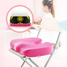 Portable Memory Foam Seat Cushion Coccyx Orthopedic Chair for Car Office Home Massage Pad